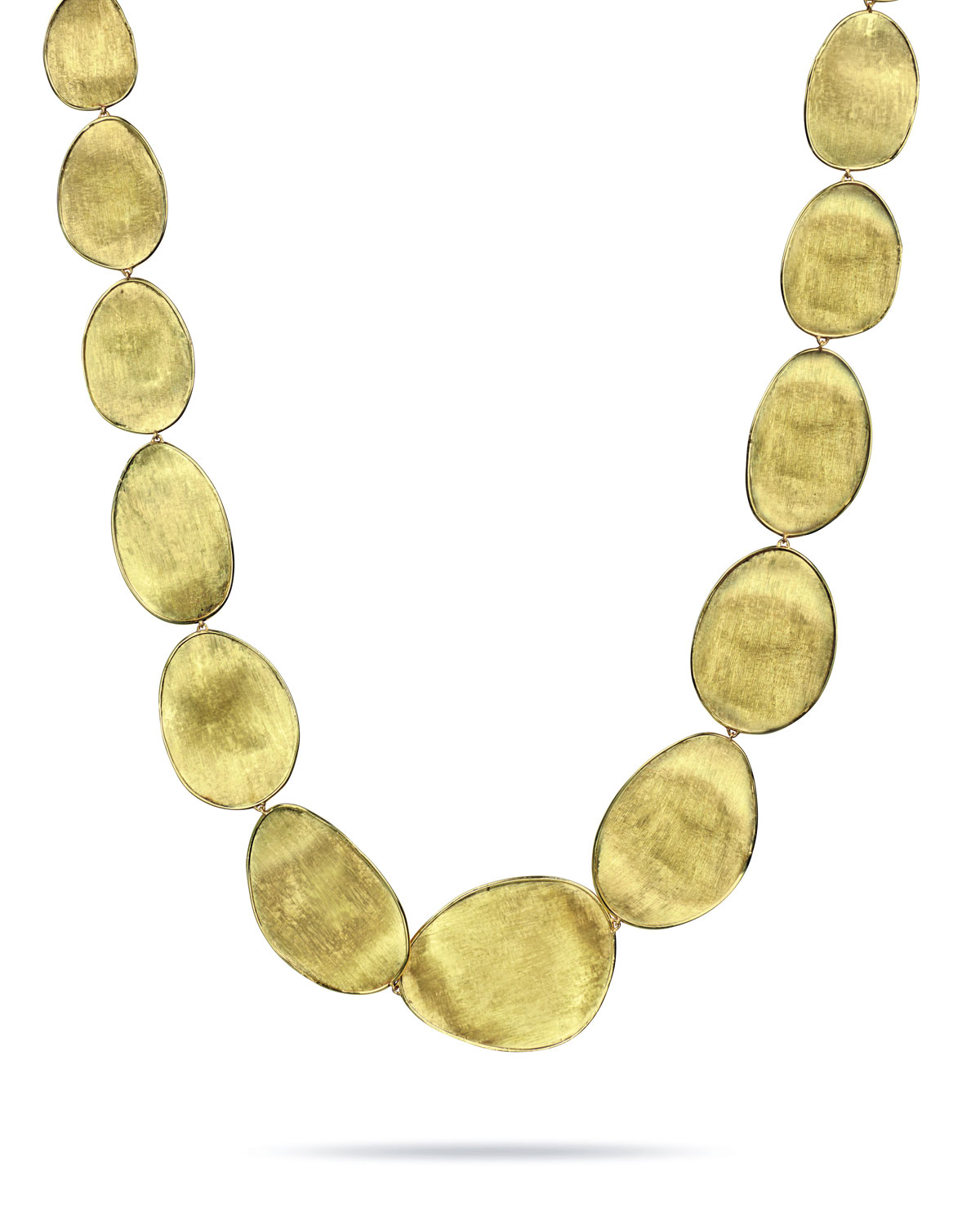 "Marco Bicego Lunaria 18k Gold Necklace, 18""L"