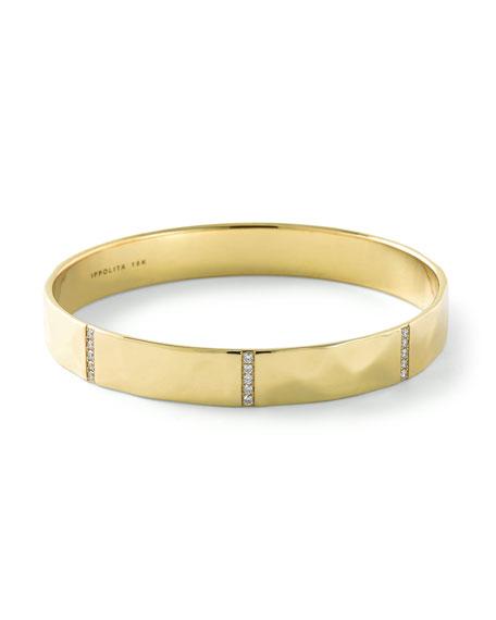 Ippolita 18K Senso™ Five-Section Bangle with Diamonds