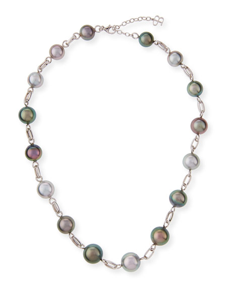 Tahitian Pearl Necklace, 18""