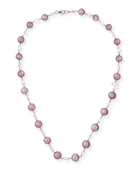 Belpearl Kasumiga Pink Pearl & Moonstone Necklace in