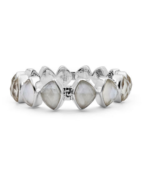 Stephen Dweck Freeform Crystal Hinge Bracelet YZjRysaQR