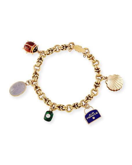 Air France Charm Bracelet