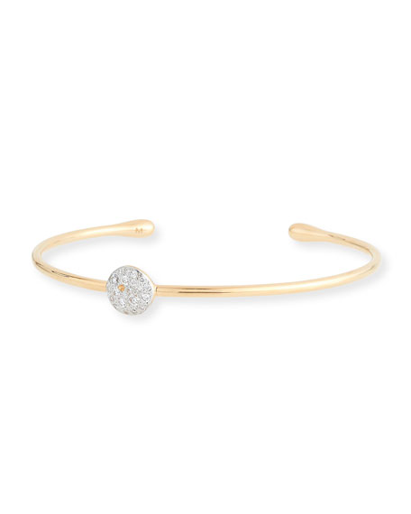 Sabbia White Diamond Station Bracelet in 18K Rose Gold
