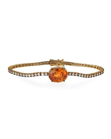 Diamond Tennis Bracelet with Zircon