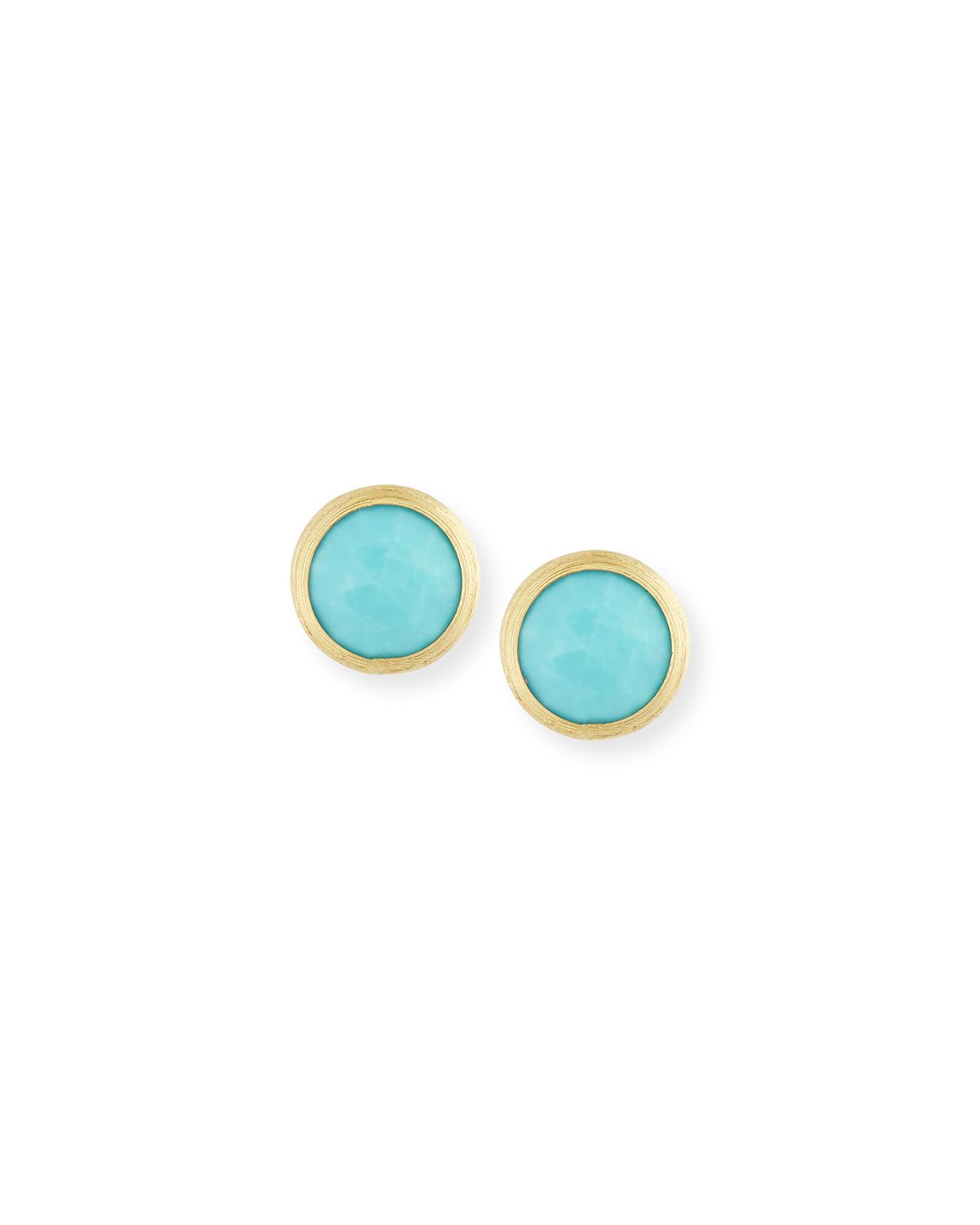 Jaipur Turquoise Stud Earrings