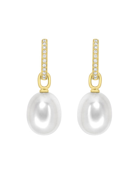 Kiki McDonough 18K Yellow Gold & Detachable Pearl