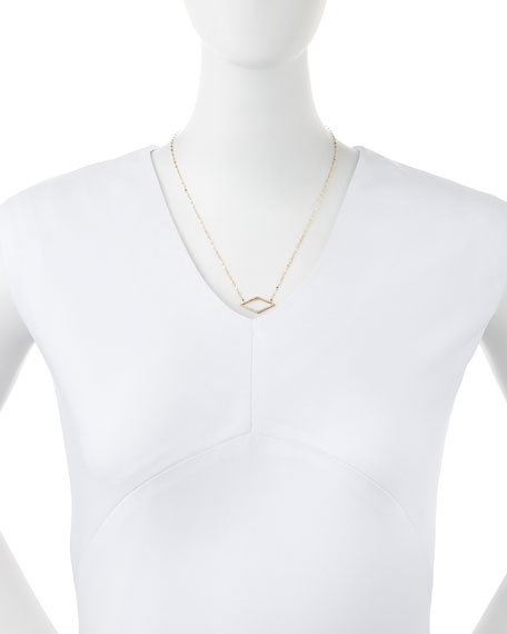 14k Mirage Diamond Pendant Necklace