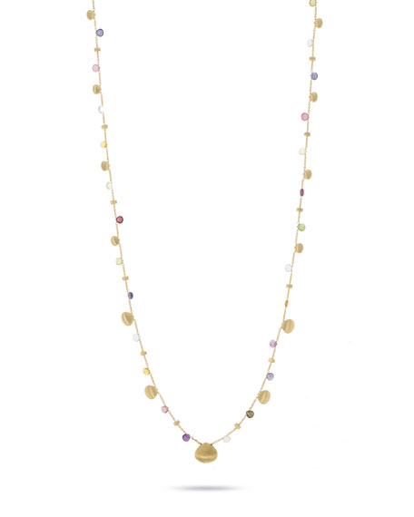 Marco Bicego Paradise Long Necklace in 18K Gold