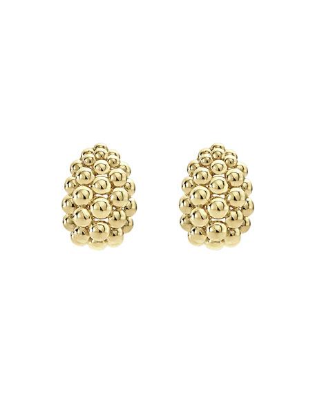 LAGOS Bold Caviar Large 18K Gold Huggie Earrings