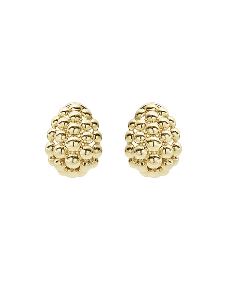 LAGOS Bold Caviar Medium 18K Gold Huggie Earrings