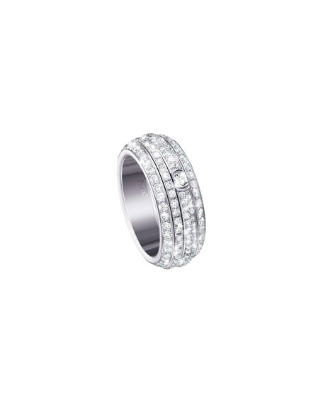 PIAGET Possession Turning Pavé Diamond Band Ring in