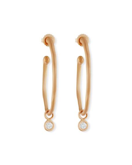 Rahaminov Diamonds for Forevermark 18K Rose Gold Wave