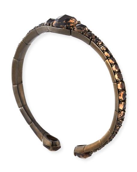 Smoky Quartz Bracelet in 18K Rose Gold