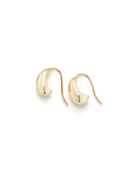 David Yurman Pure Form 18K Gold Wire Earrings