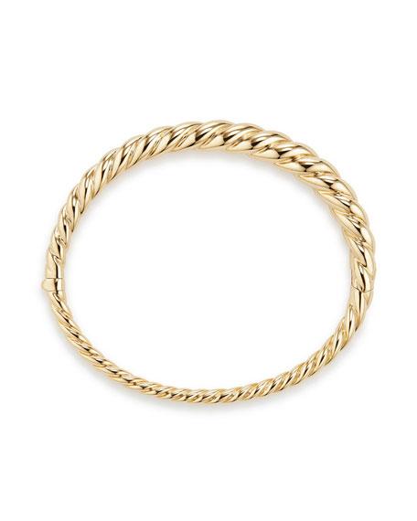 6mm Pure Form 18K Cable Bracelet, Size S
