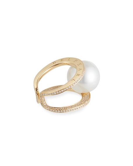 Belpearl Grand Kobe South Sea Pearl Ring, Size 5.75
