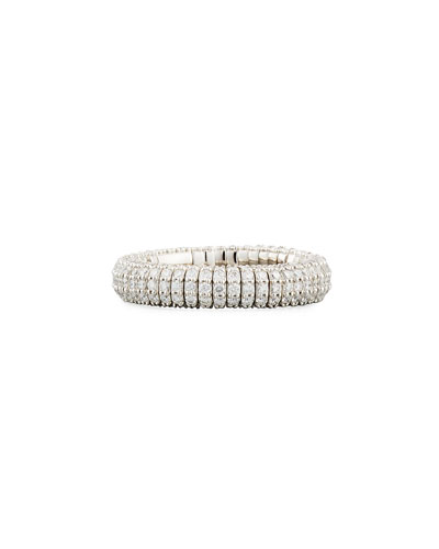 Giotto 18K White Gold Ring with Diamonds