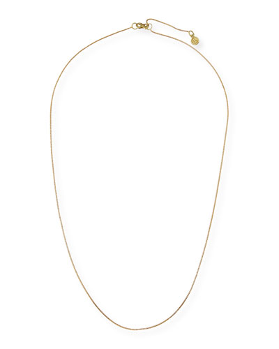 Franco 18K Gold Chain Necklace, 30