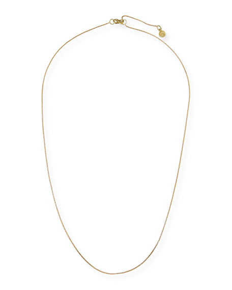 Franco 18K Gold Chain Necklace, 30""