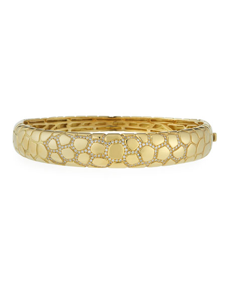 Anaconda 18K Gold Bracelet with Diamonds