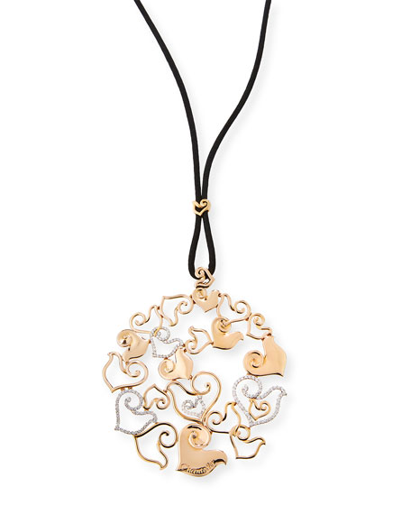 Chantecler 18K Rose Gold & Diamond Pendant on
