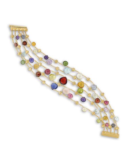 Paradise 5-Strand Engraved Bracelet