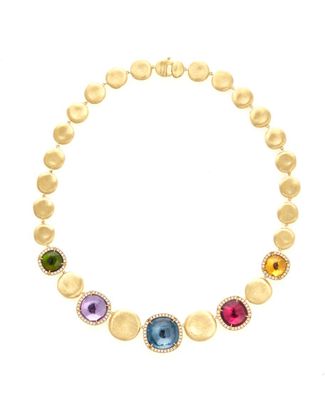 Jaipur Collar Necklace with Diamonds