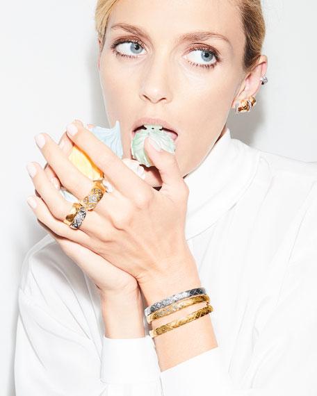 CHANEL COCO CRUSH EARRINGS IN 18K WHITE GOLD & DIAMONDS
