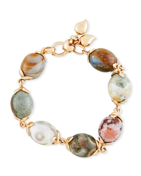 Tamara Comolli Ocean Jasper Beaded Bracelet