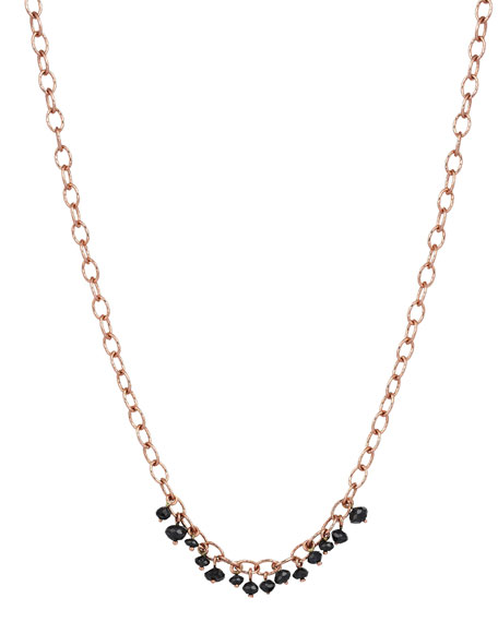 Kismet by Milka Raw 14K Black Diamond Necklace