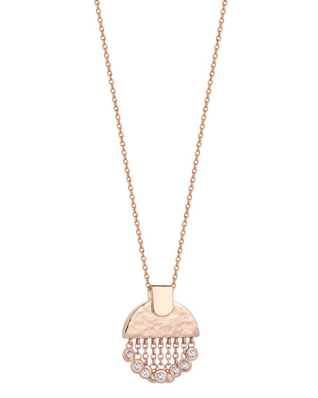 Beyond 14k Diamond Tassel Pendant Necklace