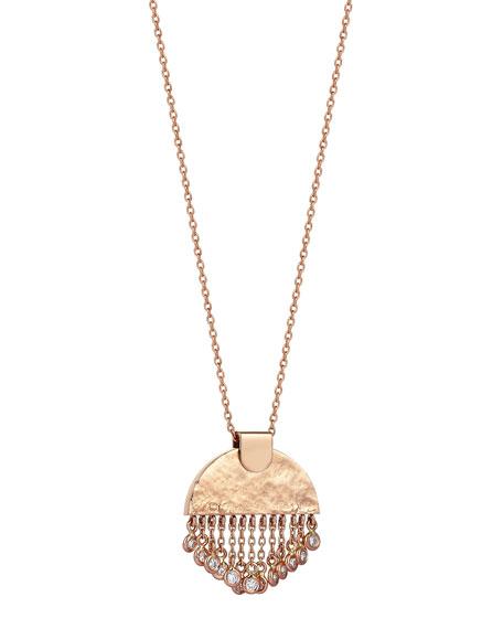 Beyond 14k Diamond Le Soleil Tassel Necklace
