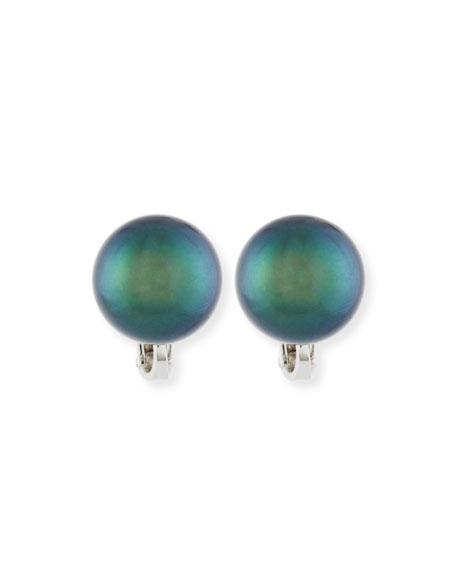 Assael Tahitian Pearl Stud Earrings