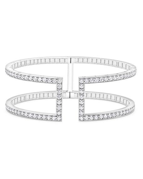 20mm Rectangular Pinpoint Cuff Bracelet