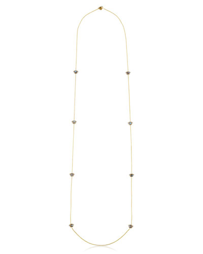 Kamalini Lotus Station Necklace, 42