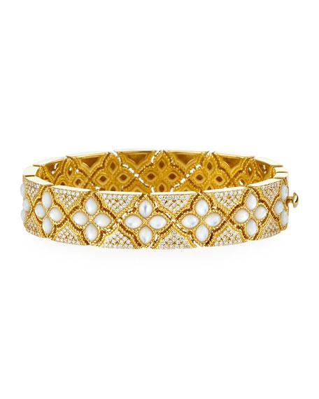 Venetian Princess Diamond & Mother-of-Pearl Bracelet