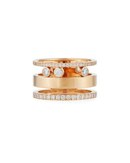 Messika 18k Move Roman Large Diamond Ring OiUs5BNAq