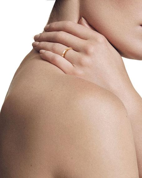 Novella 18k Baguette Diamond Stack Ring, Size 7