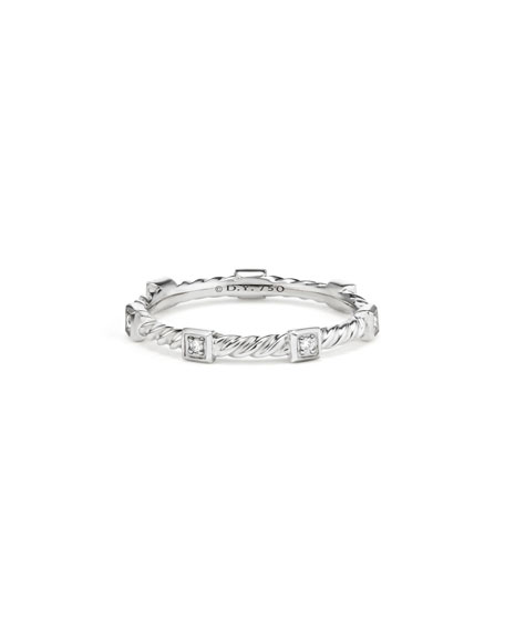 David Yurman Cable Collectibles Stacking Band Ring w/