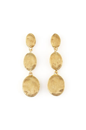 Marco Bicego Siviglia 18K Gold Drop Post Earrings