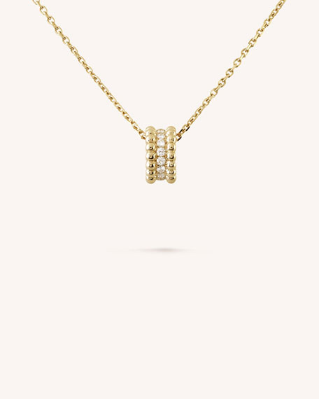 Van Cleef & Arpels Perlee Diamonds Pendant