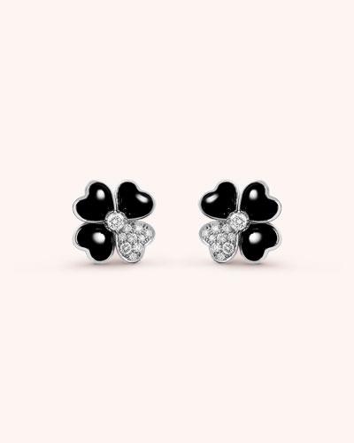 Cosmos Onyx Earrings