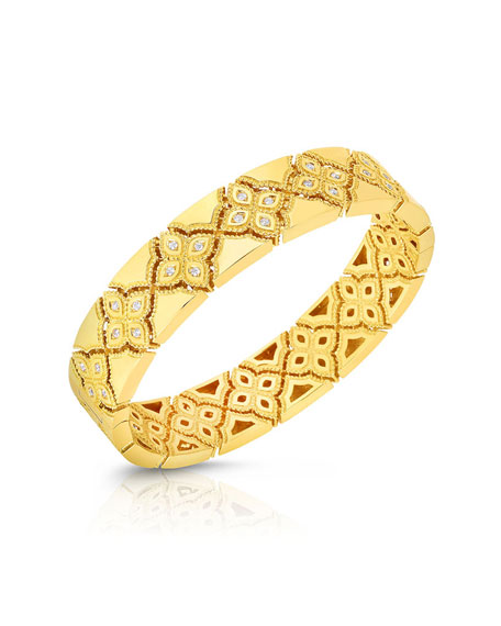 18k Venetian Princess Diamond Bracelet