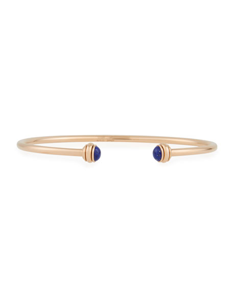 Possession Thin 18K Red Gold Open Bangle with