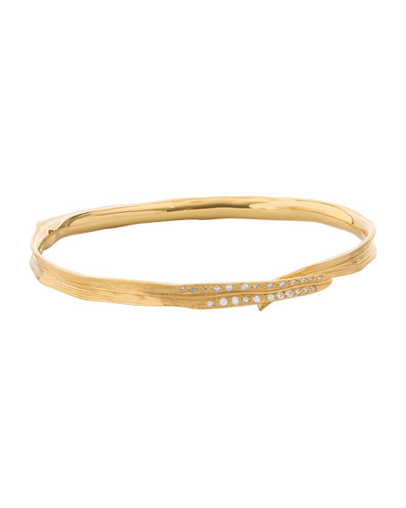Michael Aram 18k Palm Diamond Bracelet