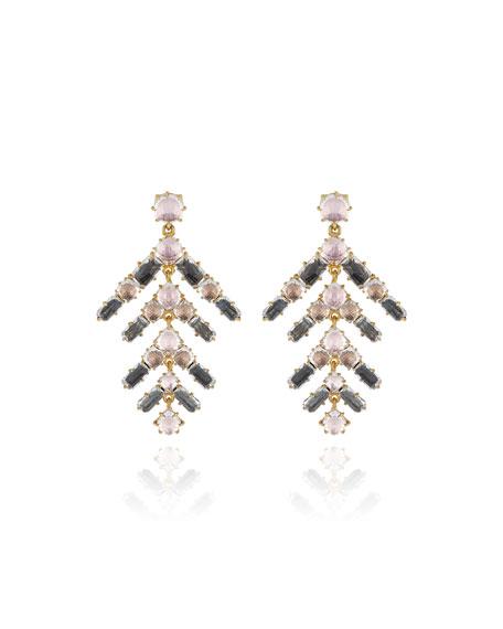 Larkspur & Hawk Caterina Branch Earrings, Fawn