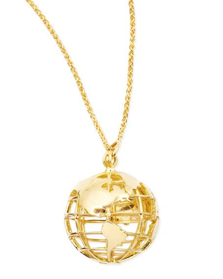 Monica Rich Kosann 18k Gold My Earth Necklace