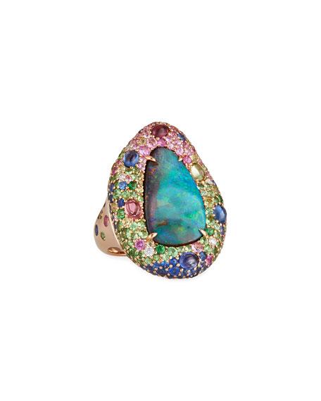 Margot McKinney Jewelry 18k Yellow Gold Opal &