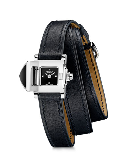 Image 2 of 4: Hermès Medor Rock Watch, 16 x 16 mm