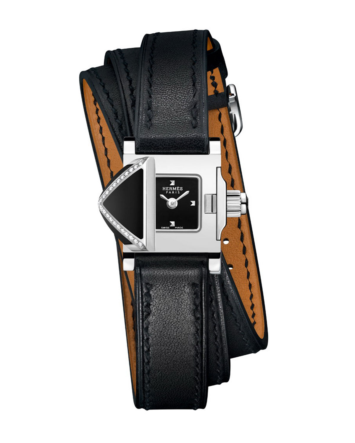 Hermès Medor Rock Watch, 16 x 16 mm